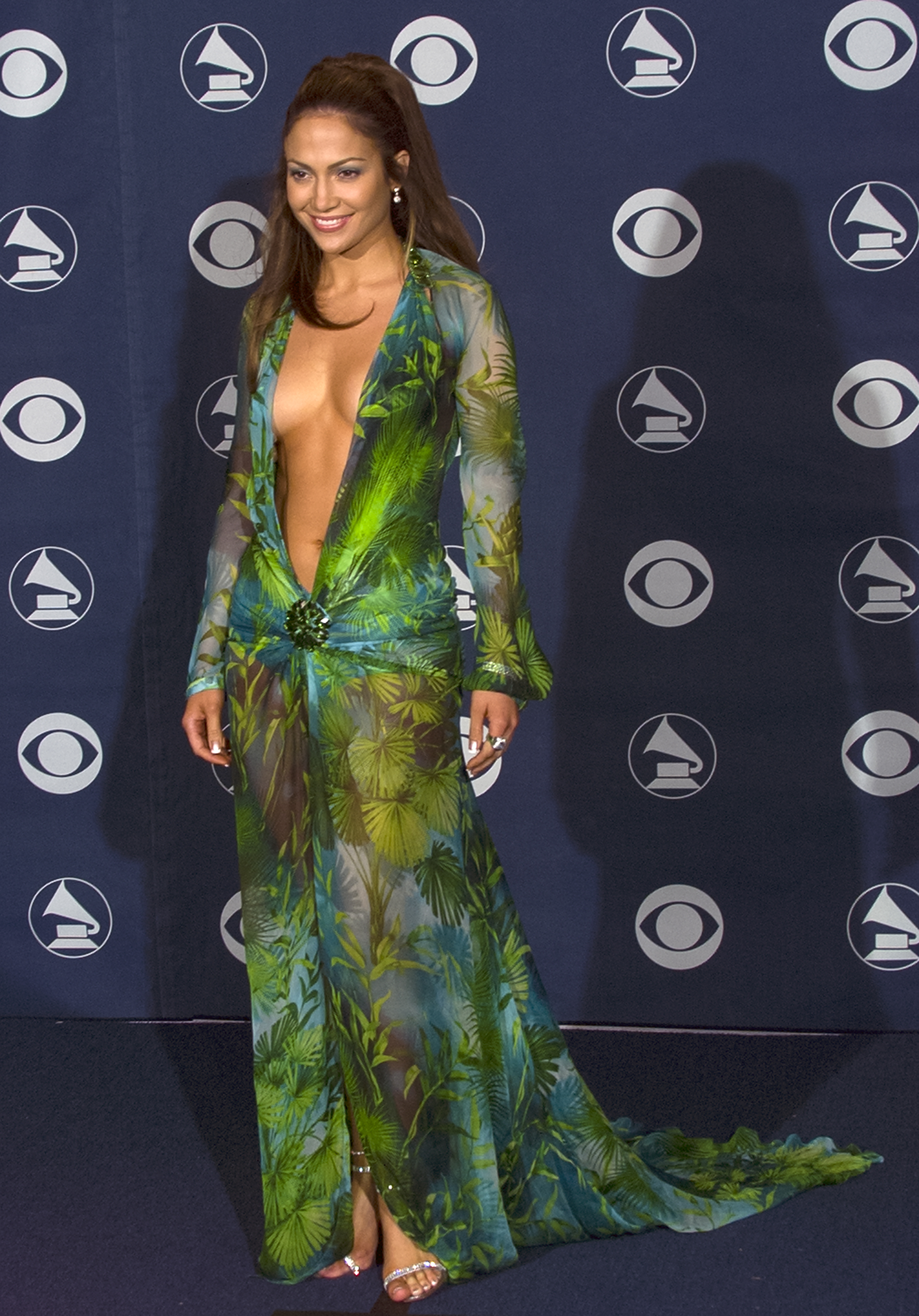 Jennifer Lopez's Iconic Versace Grammys Dress Just Got a Modern Update