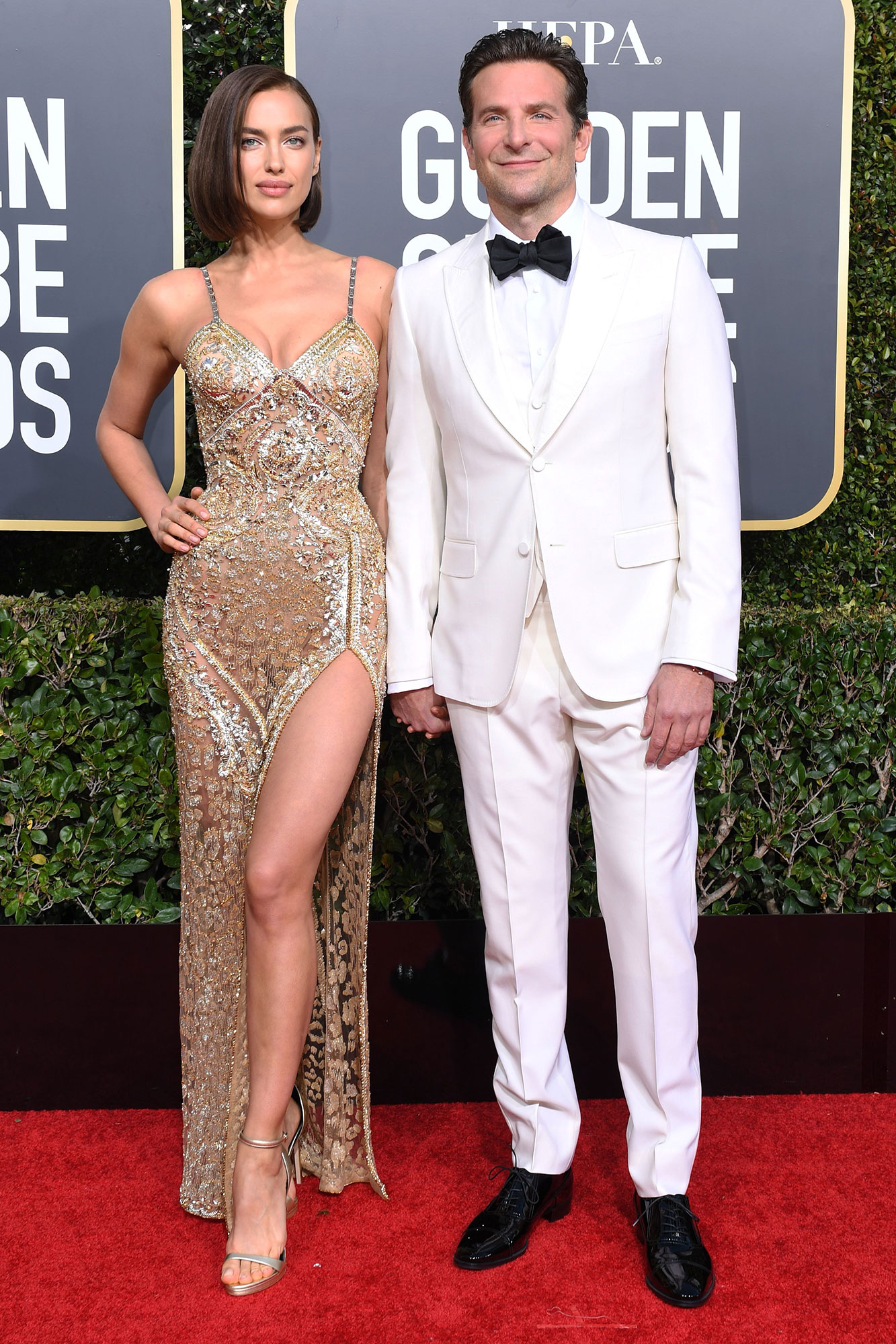 Why Irina Shayk Didn't Attend the SAG Awards with Bradley Cooper