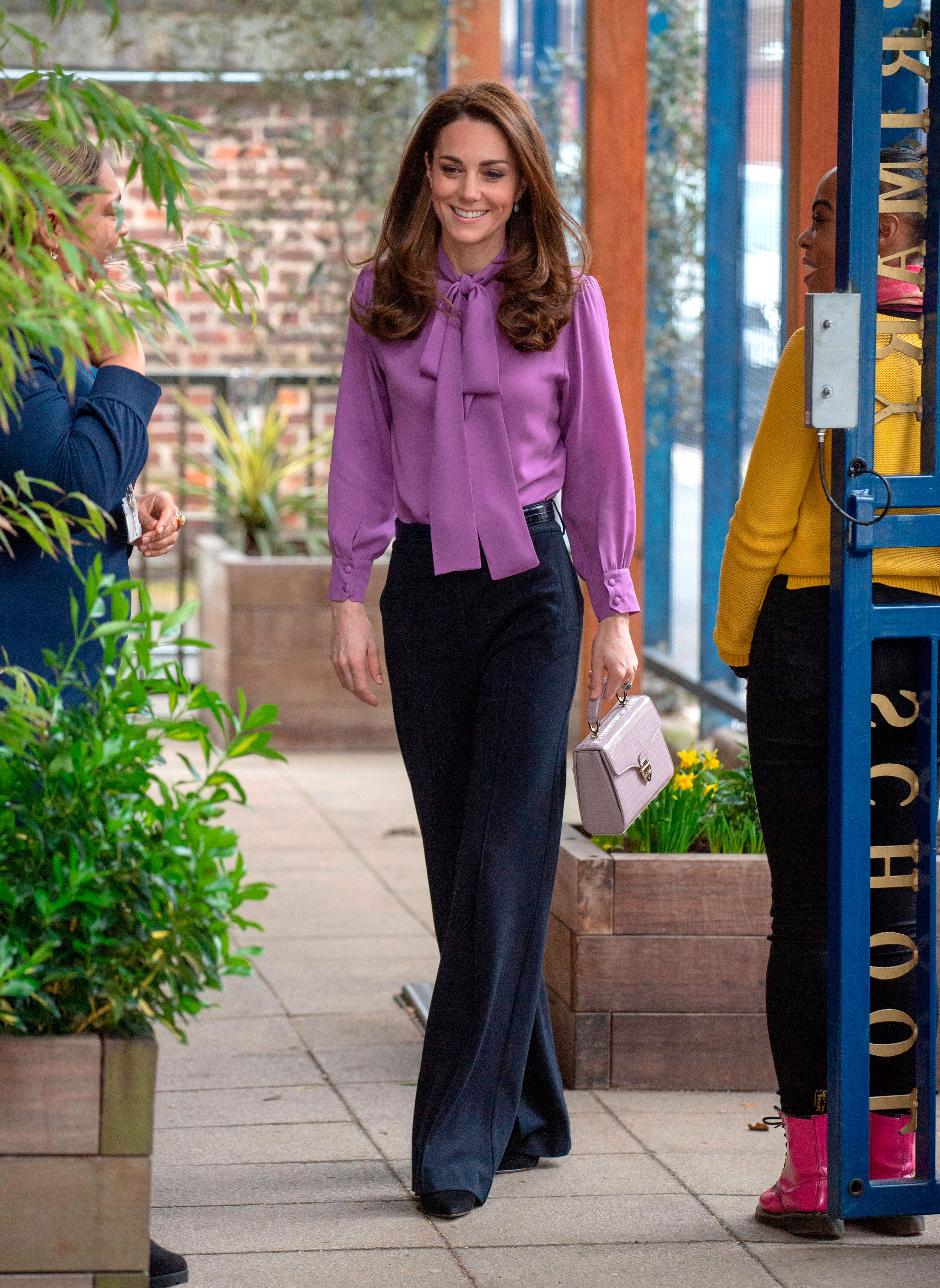 InStyle's Look of the Day picks for March 13, 2019 include Kate Middleton, Kendall Jenner and Victoria Beckham.