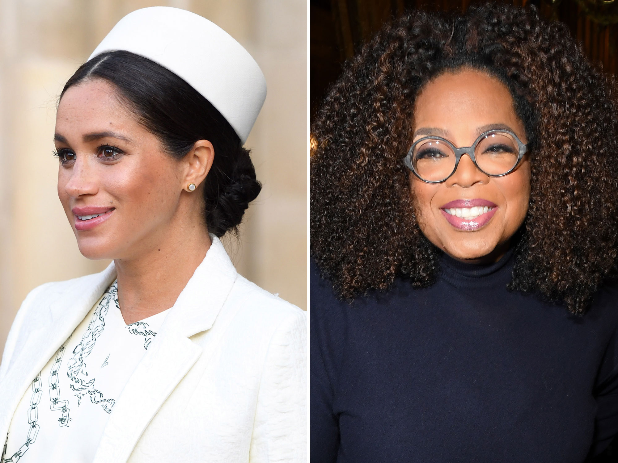 Oprah Fiercely Defends Meghan Markle Against Critics of Her Private Birth Plan