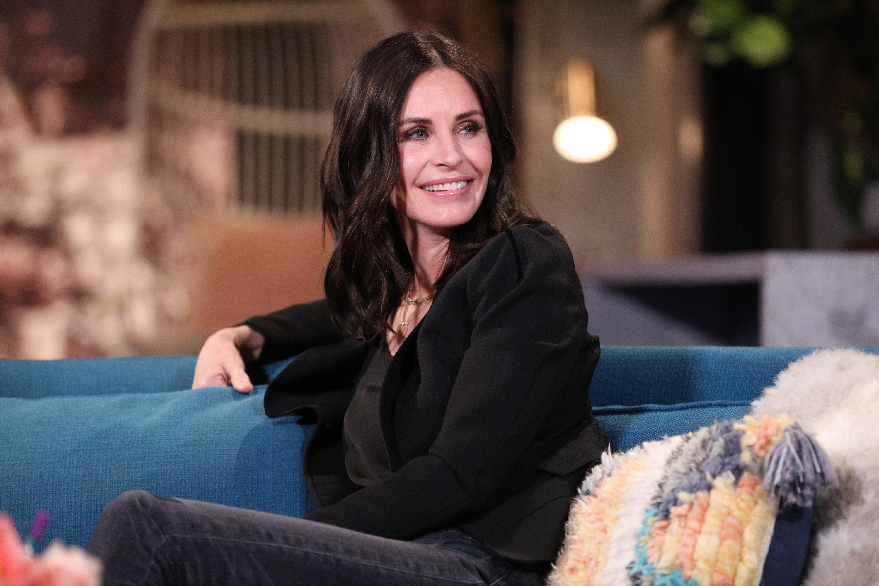 Courteney Cox's Bizarre Video Montages Are the Only Reason to Be on Instagram