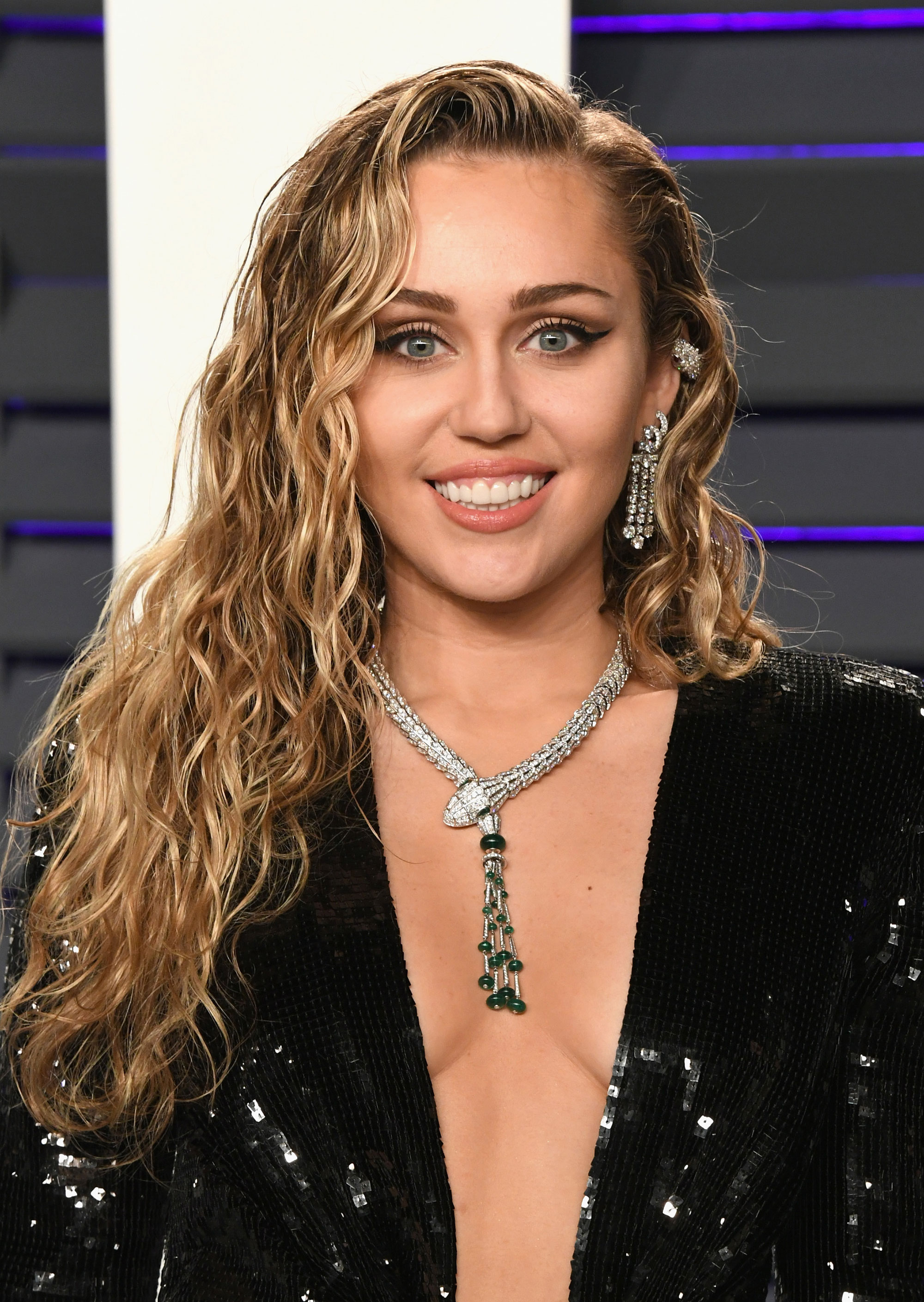 Miley Cyrus Has Purple Hair in the New 'Black Mirror' Trailer