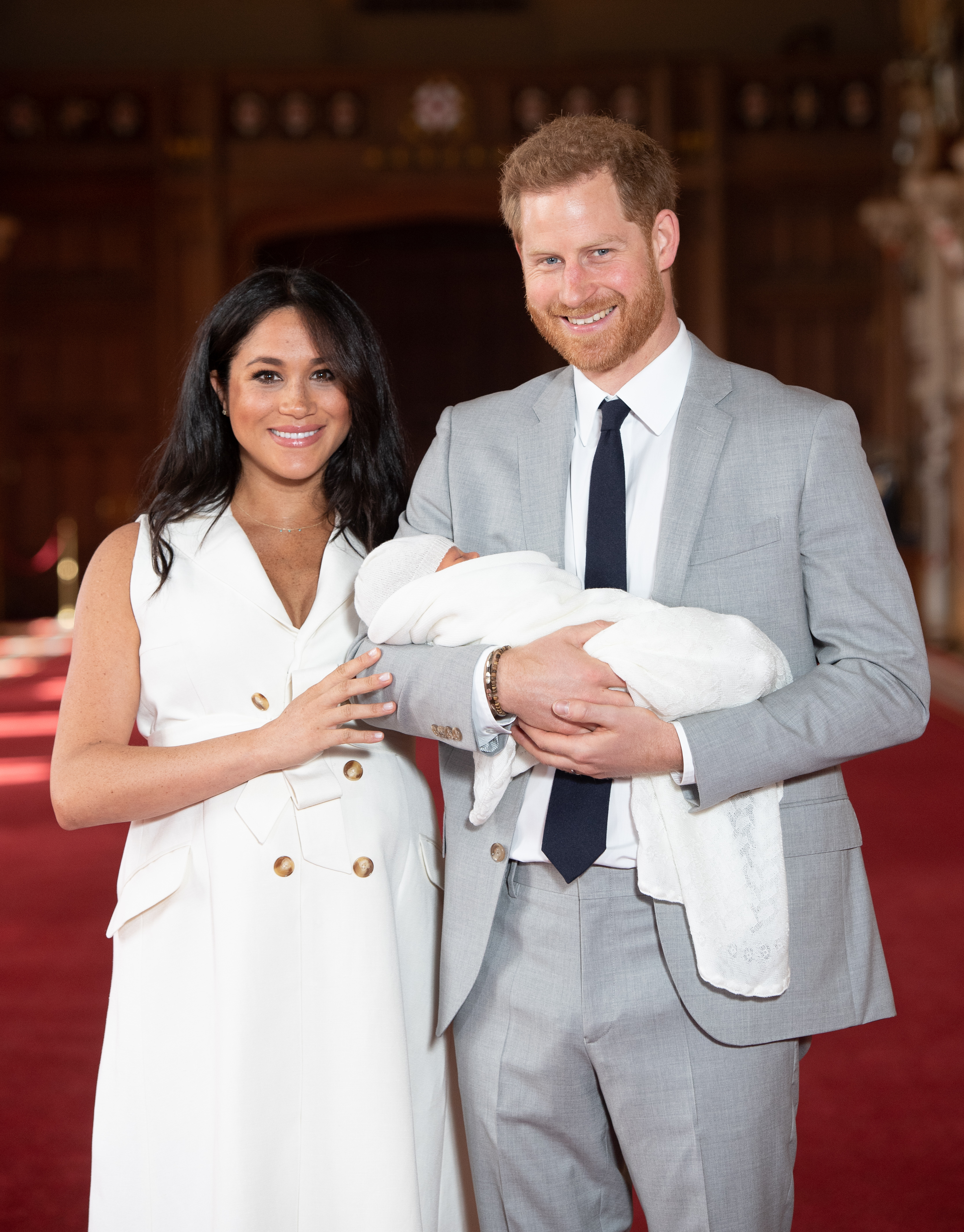 Baby Archie's Royal Cousins May Hold a Clue About When We'll See Him Next