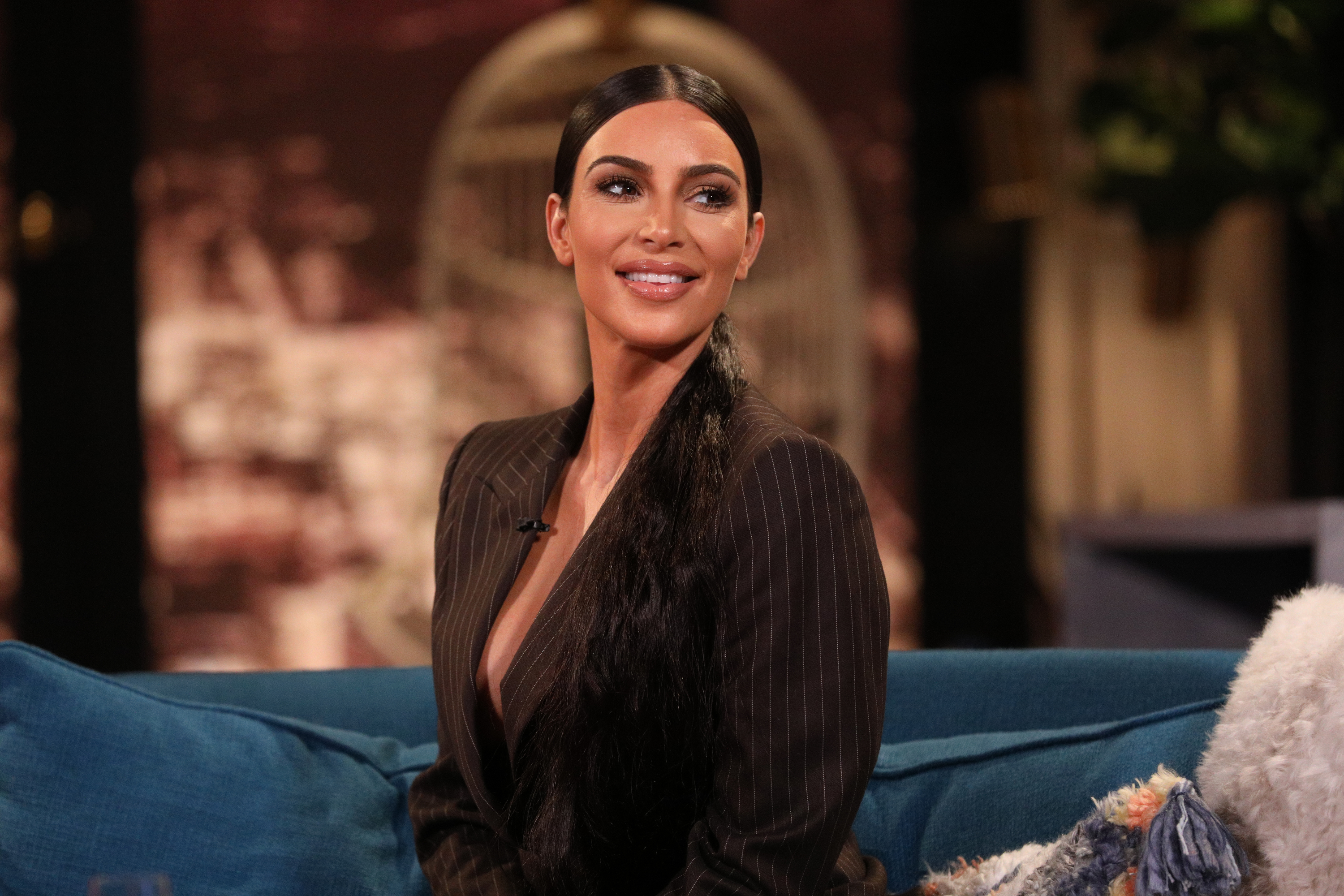 "Kim Kardashian Renamed Her Shapewear Collection After the ""Kimono"" Backlash"