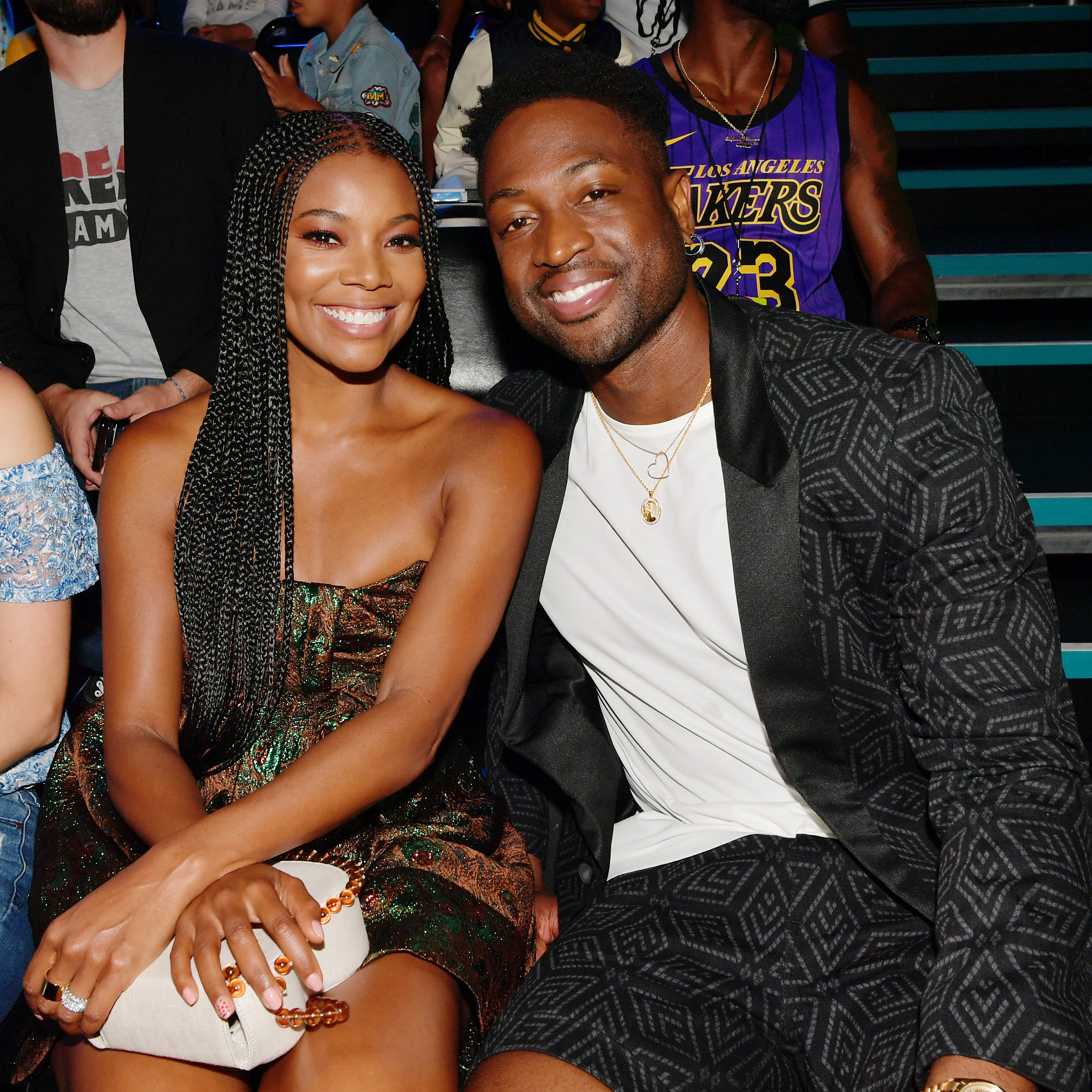 Gabrielle Union and Dwyane Wade Posed with Their 8-Month-Old Daughter on the Red Carpet
