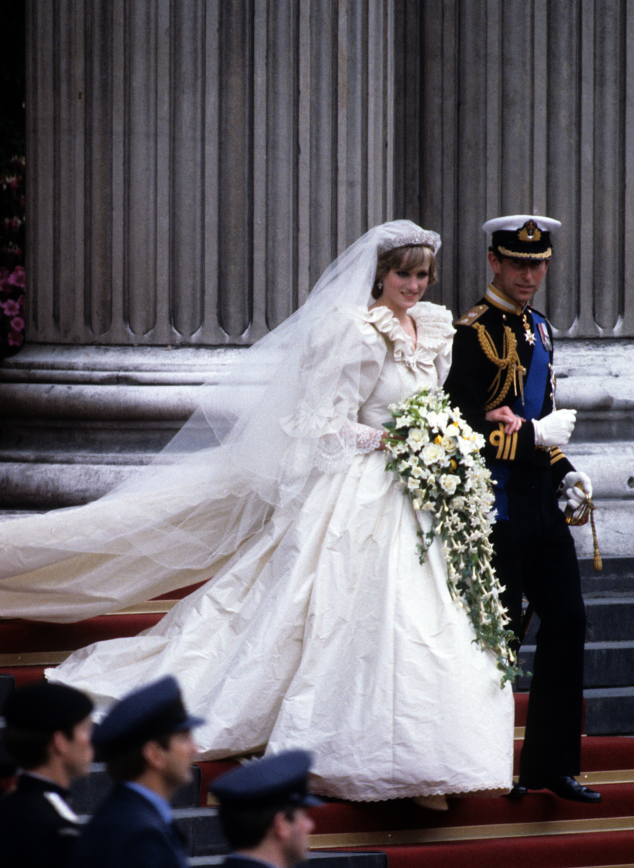 Of Course Princess Diana Broke Royal Tradition on Her Wedding Day