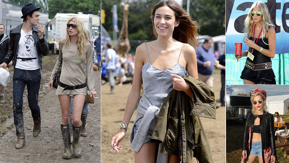Not A Flower Crown In Sight: The Best A-List Looks From Glastonbury