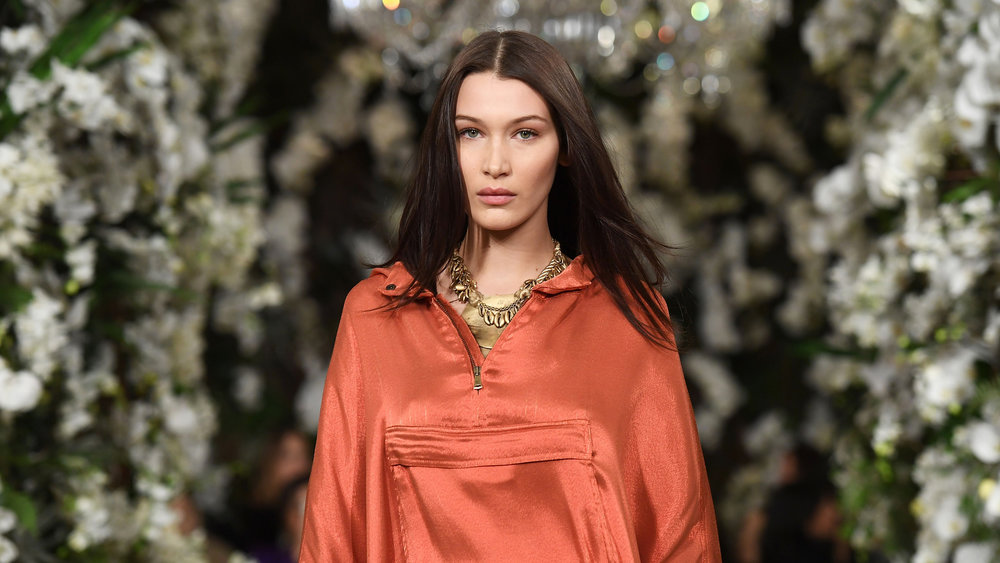 How Many Feet Has Bella Hadid Walked This Fashion Month?