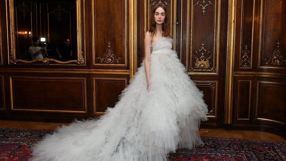 The Most Fairy Tale-Worthy Wedding Dresses at Bridal Fashion Week