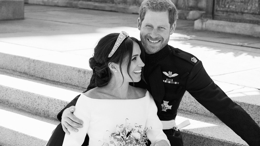 Meghan and Harry portraits lead