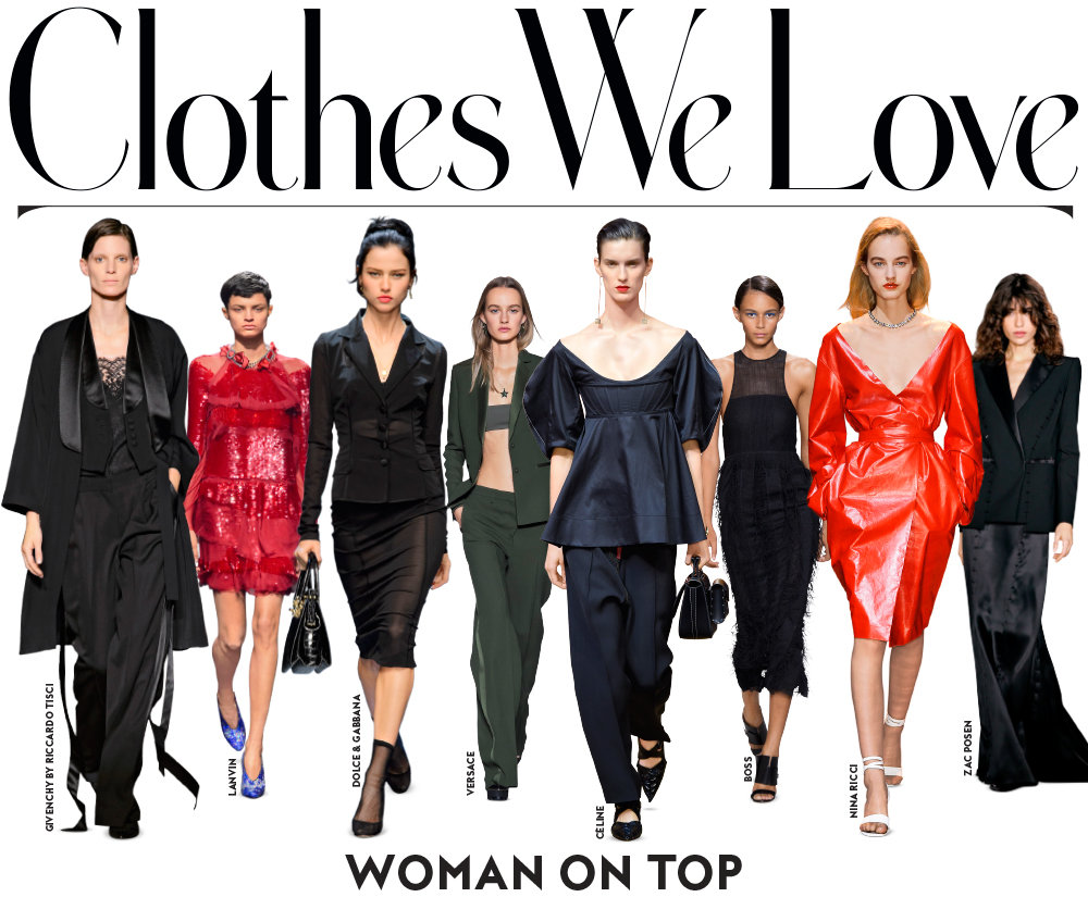 Woman On Top Clothes We Love