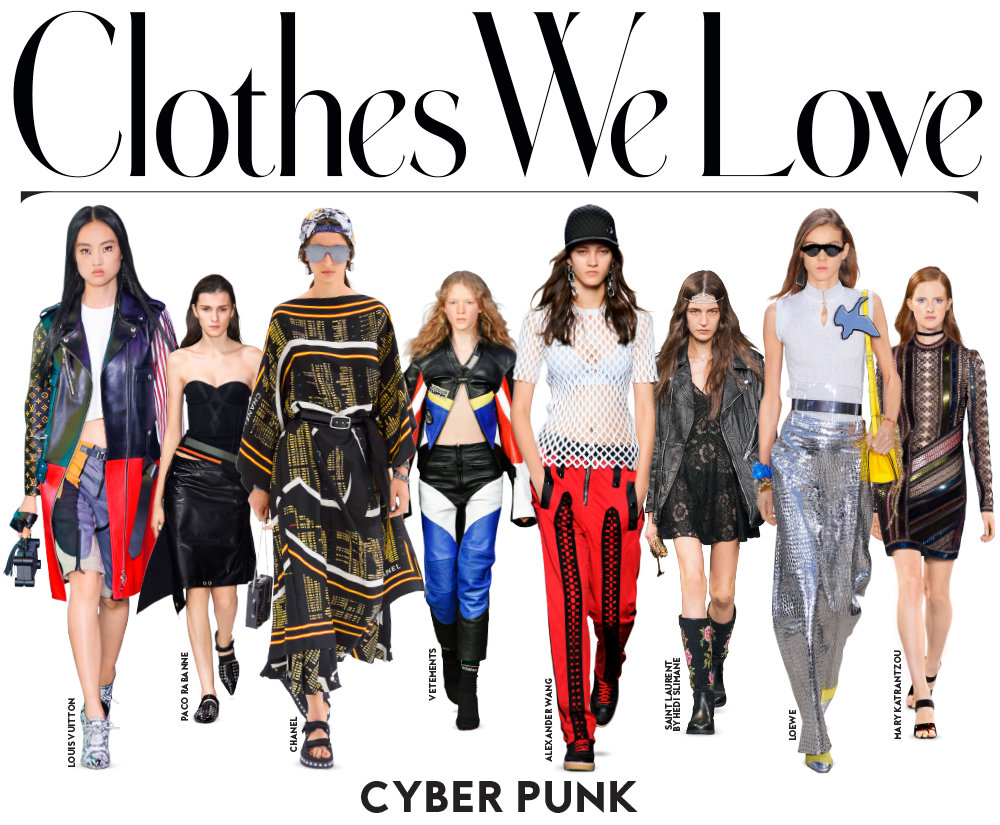 Cyber Punk Clothes We Love