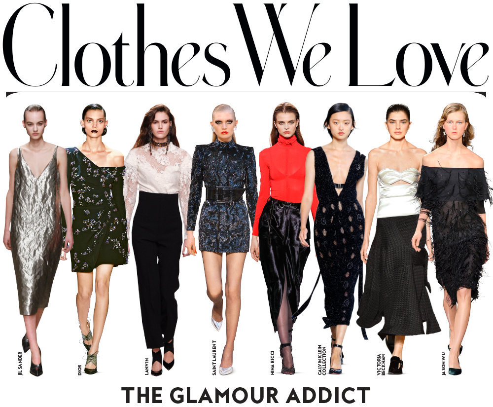 Shop the Fall 2016 Trend:Glamour Addict