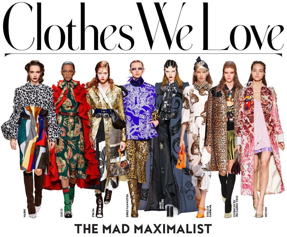 Shop the Fall 2016 Trend:Mad Maximalist