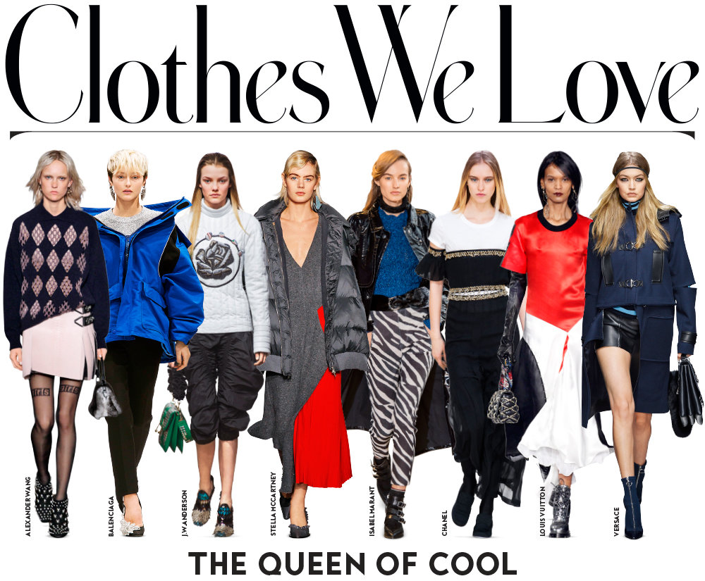 Shop the Fall 2016 Trend: Queen of Cool