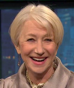 Helen Mirren on Late Night with Seth Meyers