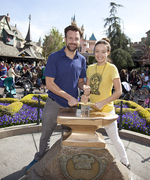 Celebrate Disneyland's 60th Anniversary with Stars Having Fun at the Theme Park