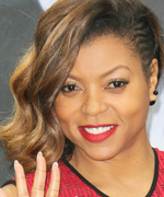 Check Out Taraji P. Henson's Purple Ombré Highlights