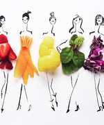 The Most Nutritious Fashion Sketches You'll Ever See