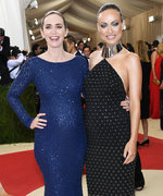 Emily Blunt, Olivia Wilde, and Kerry Washington Slay Red Carpet Maternity Style and It's Adorable
