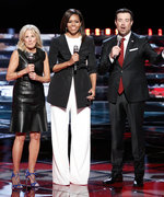 Michelle Obama Kicks Off Her TV Takeover with a Stylish Appearance on The Voice