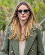 Olivia Palermo Turns a Chilly Spring Day Into a Fab Dog-Walking Opportunity