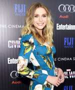 Elizabeth Olsen Wins the Red Carpet Game in Florals at a Captain America: Civil War Screening