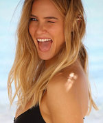 Bar Refaeli Flaunts Her Tiny Baby Bump in a Sizzling Bikini Commercial