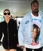 Kim Kardashian West Turns Heads in a Minidress at the Airport
