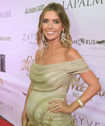 Audrina Patridge Kicks Off Her Baby Shower with a Sweet Bump-Off