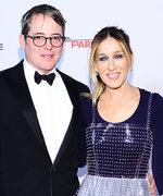 Sarah Jessica Parker Wears a Fashion-Forward Plastic Dress for Date Night with Matthew Broderick