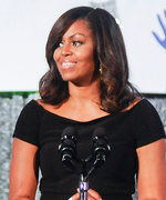 Michelle Obama Heats Up the White House in an Off-the-Shoulder Crop Top