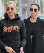 Kendall Jenner and Hailey Baldwin Grocery Shop Together in the Perfect Athleisure Looks