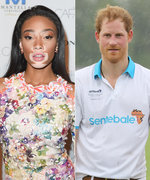 Prince Harry Photobombs America's Next Top Model Star Winnie Harlow's Selfie in the Best Way Ever