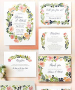 15 Beautiful Invitations Perfect for a Summer Wedding