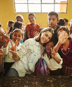 Go Behind the Scenes of Olivia Culpo's Charitable Trip to Guatemala with Pencils of Promise