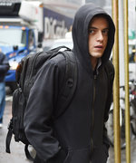 Would Rami Malek Ever Wear His Mr. Robot Hoodie IRL? His Stylist Weighs In