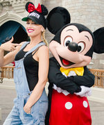 Gwen Stefani Spends Fun-Filled Day at Disney World with Her Kids