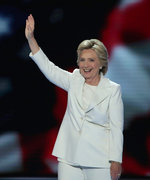 Hillary Clinton Accepts Democratic Nomination: See Celebrity Reactions to the Historic Moment