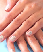 Nail Art Know How: Silver Rain