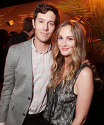 Leighton Meester and Adam Brody Are Too Cute in a Rare Red Carpet Appearance