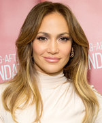 Jennifer Lopez Steps Out Post-Breakup in a Denim Shirt and Matching Sweatpants