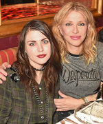 Courtney Love and Frances Bean Cobain Are the Coolest Mother-Daughter Duo at a Party in London