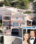Take a Look Back at Brad Pitt and Angelina Jolie's Shared Real Estate Properties