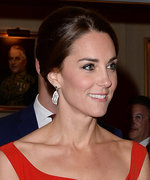 Kate Middleton's Glittering Diamond Maple Leaf Brooch and Red Gown Give a Nod to Canada
