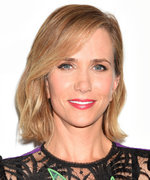 Kristen Wiig Flaunts Her Toned Legs in a Sexy Sheer Dress at the Masterminds L.A. Premiere