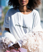 WTF?! Curse Words Are Trending at Fashion Month