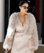 Olivia Culpo Stuns in Alluring Head to Toe Neutrals in Miami