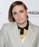Lena Dunham Got Bangs While You Were Still Sleeping