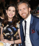 Anne Hathaway Enjoys a Glitzy Couple's Night Out with Husband Adam Shulman